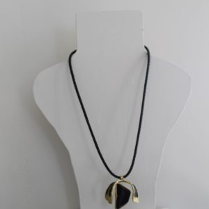 Korte halsketting Brons
