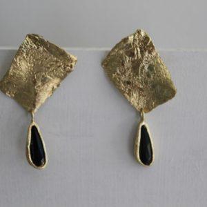 Oorbellen Brons