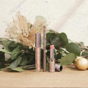 Cadeauset / Lipstick breathless + lippencil nude + lipgloss glittering